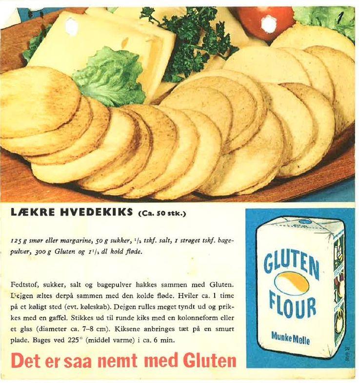 Lækre Hvedkiks (  ca. 50 stk. )...