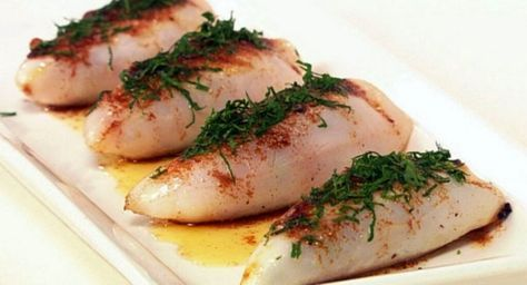 Simple and Very Tasty Stuffed Squid Recipe   Free Restaurant Recipes