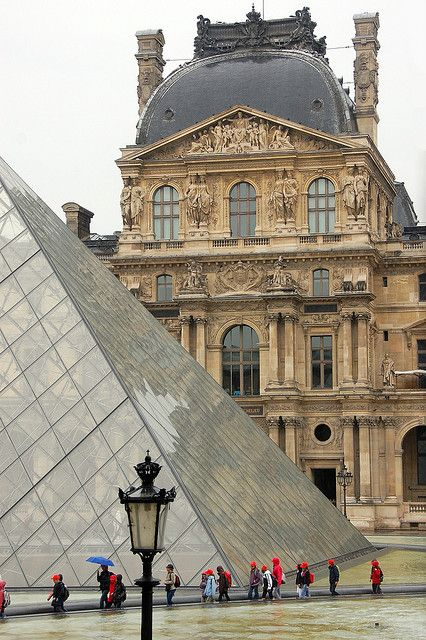 Musée du Louvre ~ Paris ...my very first time at 13 years old with my Grandma!  Memories sweet!