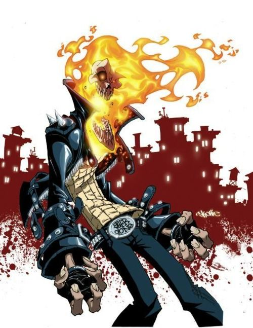 skottie young's ghost rider ★ Find more at http://www.pinterest.com/competing/