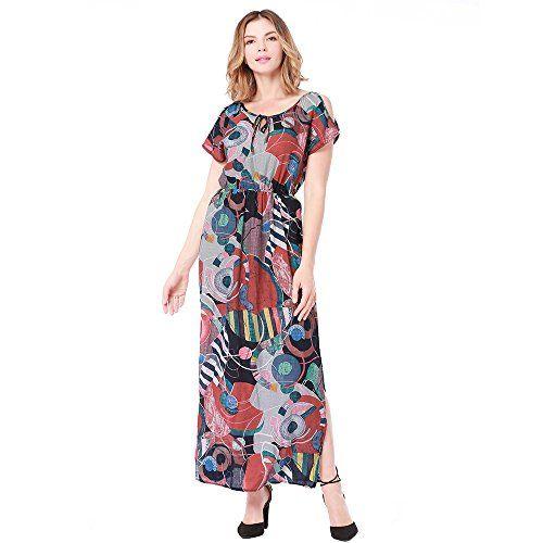796679f905 Wenzhihua Vestido de Las señoras Vestido De La Playa De La Cintura del Vestido  Sexy De