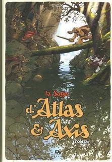 Saga d'atlas et axis,la t01