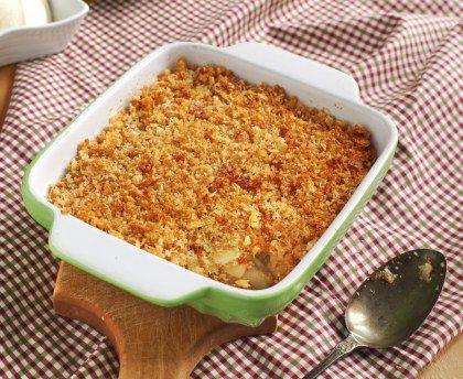 Crumble pommes poires sans beurre : Recette de Crumble pommes poires sans beurre - Marmiton