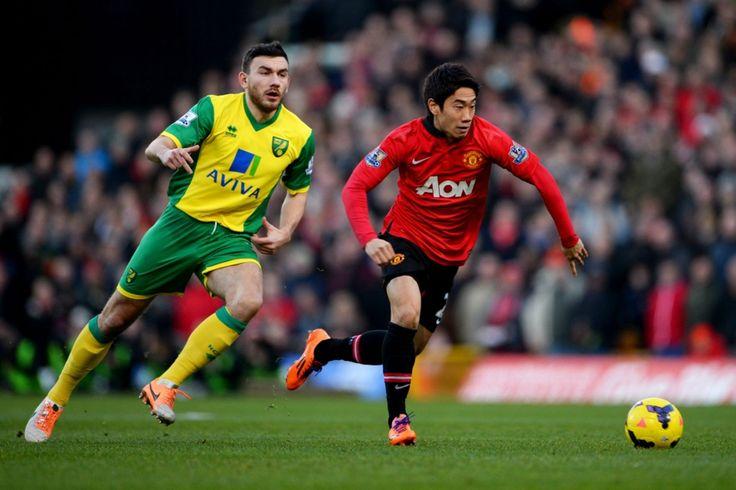 Shinji Kagawa returned to the United starting XI