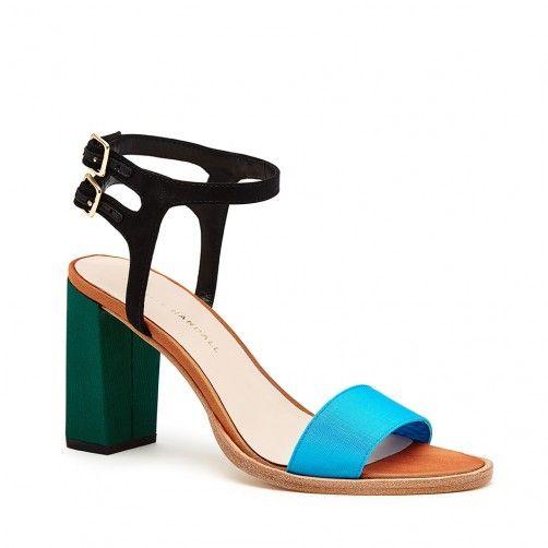 Sylvia Double Buckle Sandal