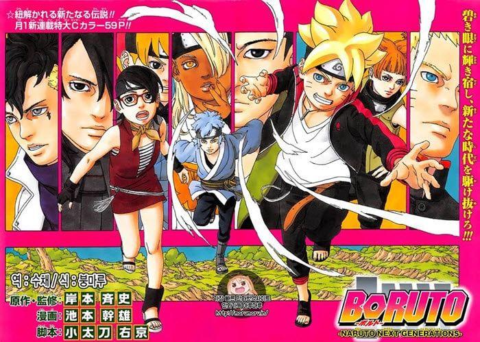 Komik Boruto Naruto Next Generations Bahasa Indonesia