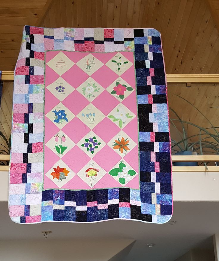 Mom's Provincial Flowers quilt