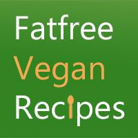 Over 1200 low-fat or fat-free vegan recipes