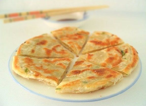 GREEN ONION PANCAKE - Vegetarian, gluten free, vegan and healthy. Simple and very, very easy to make. Reminds me of Indian paratha bread, yummy! This pancake is vegetarian, vegan (see caveat below), gluten free (again see the caveat below), and healthy.