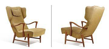 Lenestol / Moderne mobler og design / Nettauksjon / Blomqvist - Blomqvist Kunsthandel