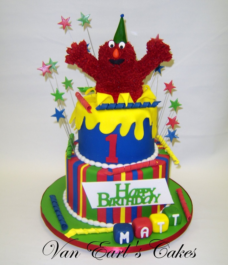 12 best Liams second birthday images on Pinterest Elmo cake