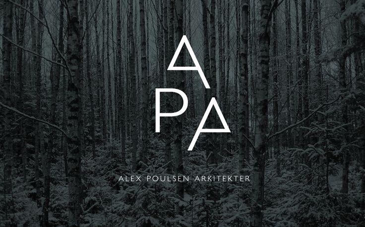 Architect Brand Identity – Alex Poulsen Arkitekter |
