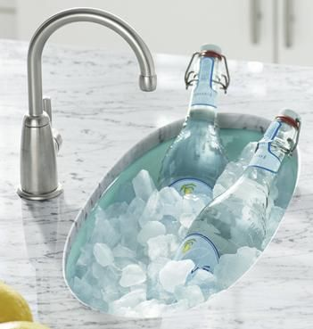 This Is The Kohler Entertainment Bar Sink. Your Fill Options: Choose A  Slightly Higher Water Spout, OR Make The Water Spout Swing Arm Like Those  On Range ...