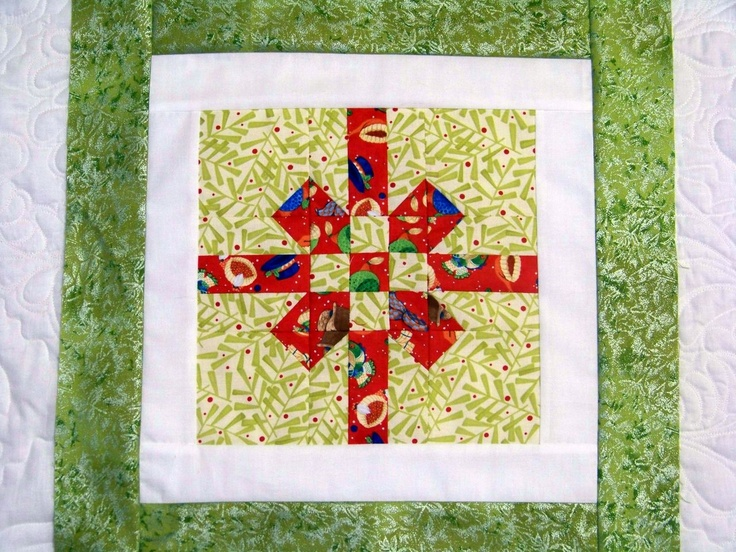 Quilt Block Patterns Christmas : 137 best Quilt Blocks: Christmas images on Pinterest Christmas quilting, Christmas sewing and ...