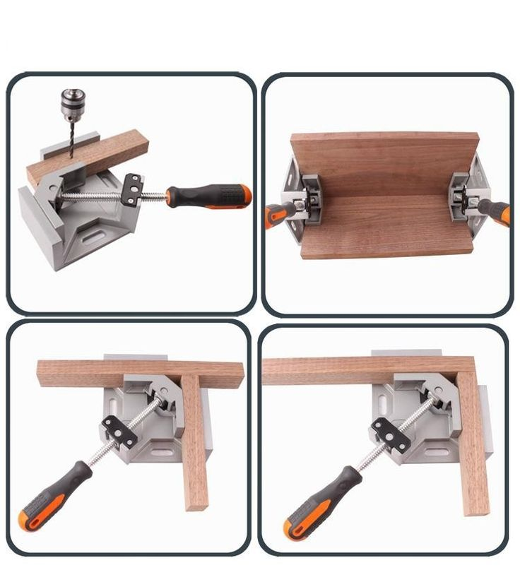 27.45$  Buy here - http://ali8ks.shopchina.info/go.php?t=32699242880 - 2016 New Hardware Single Jaw Conor Handle 90 Degree Right Angle Clamp Woodworking Clip DIY Photo Frame Aquarium Furniture Fixed 27.45$ #SHOPPING