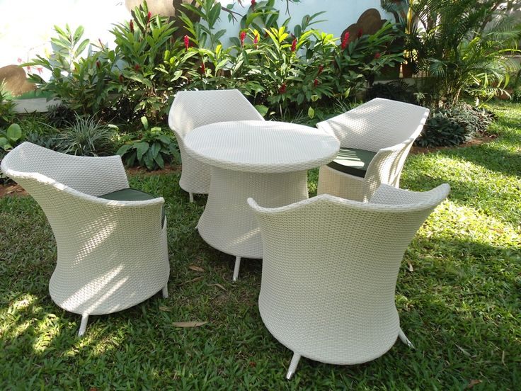 Synthetic rattan outdoor furniture - MADE IN BANGALORE