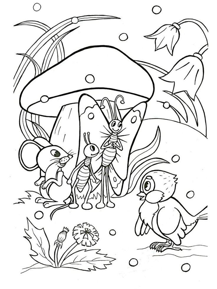 Раскраски для девочек распечатать бесплатно, принцессы, цветы, котята и другие персонажи