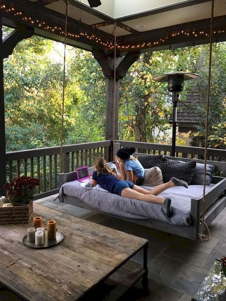 40 Easy DIY Farmhouse Summer Porch to Copy Right Now