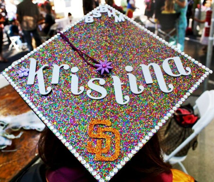 Decorating graduation cap may be a good to celebrate the graduation. Graduation is the last time you will meet your friends, it is also the best time