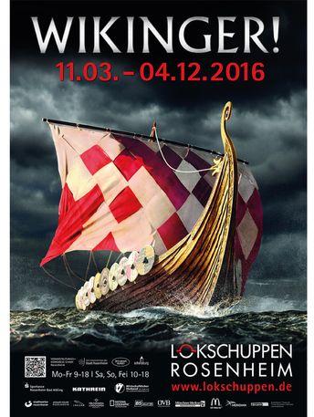 Lokschuppen Rosenheim: Ausstellung WIKINGER!