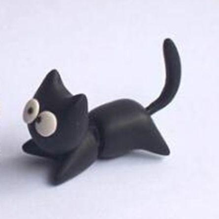 Sjove katte øreringe, 49 kr. Se vores mange sjove øreringe af plexiglas, eller smykkeler. http://uglenimosen.dk/produkter/71-sjove-oereringe/