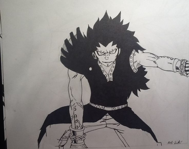 Gajeel from Fairy Tail