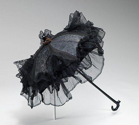 Рубиновый будуар - Зонтики-парасоли Викторианской эпохи.