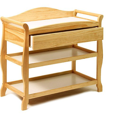 Storkcraft   Aspen Changing Table With Drawer, Natural   Walmart.com