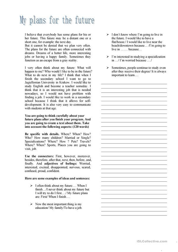 Writing About My Future Plan How To Scholarship Essay Example Persuasive Topics Goal