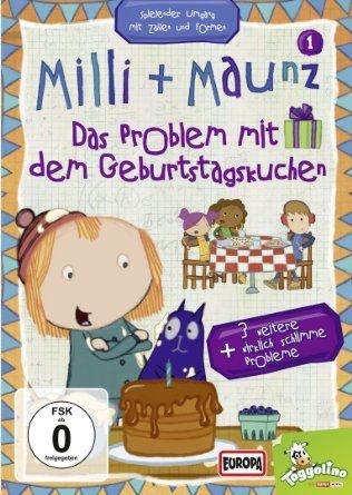Milli + Maunz - 01/das Problem mit dem Geburtstagskuchen, Zahlen und erstes Rechnen, EUR 9,97 für 4 Folgen
