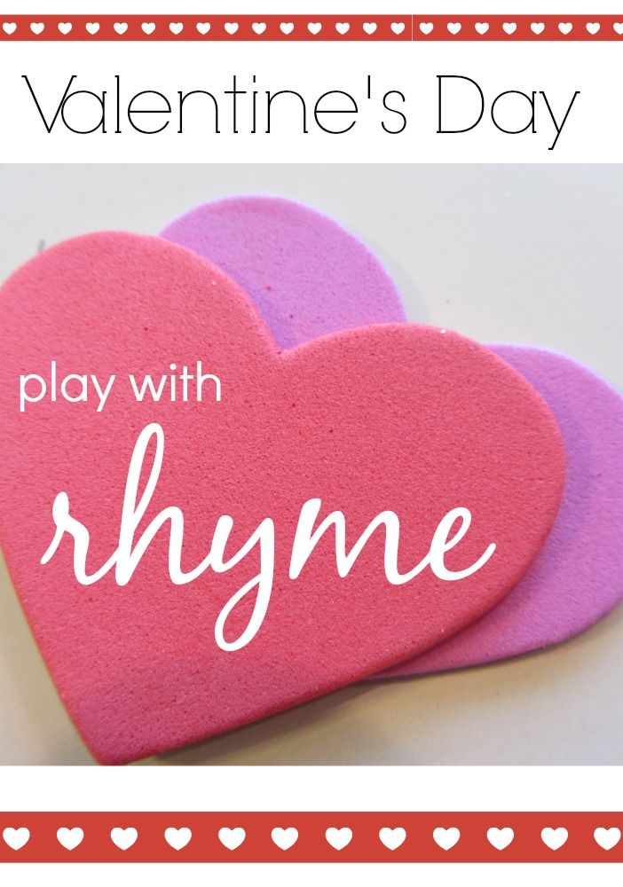 133 best reading readiness images on pinterest preschool valentine rhyme