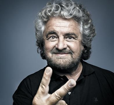 Beppe Grillo - 2013 - Movimento 5 Stelle - Political Portrait