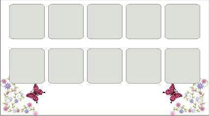 1000nails Cartela Molde Para Adesivos De Unha Com Imagens
