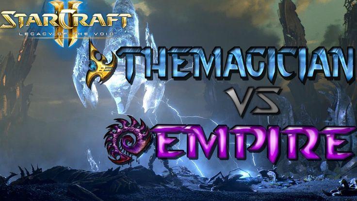 CRAZY Protoss vs. Zerg! Starcraft II Diamond League Cast TheMagician(P) vs. Empire(Z). #games #Starcraft #Starcraft2 #SC2 #gamingnews #blizzard