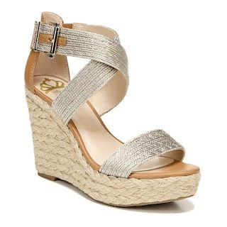 LC LAUREN CONRAD Wedge Open Toe Sandals Shoes Size 6   eBay