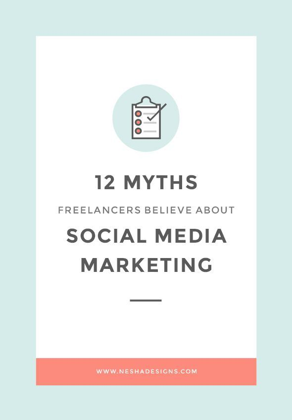 12 myths freelancers believe about social media marketing | So you struggle to find clients through social media and you've given up. But maybe you weren't trying the right techniques? Maybe these myths were in your way? Find out more by clicking through! :)