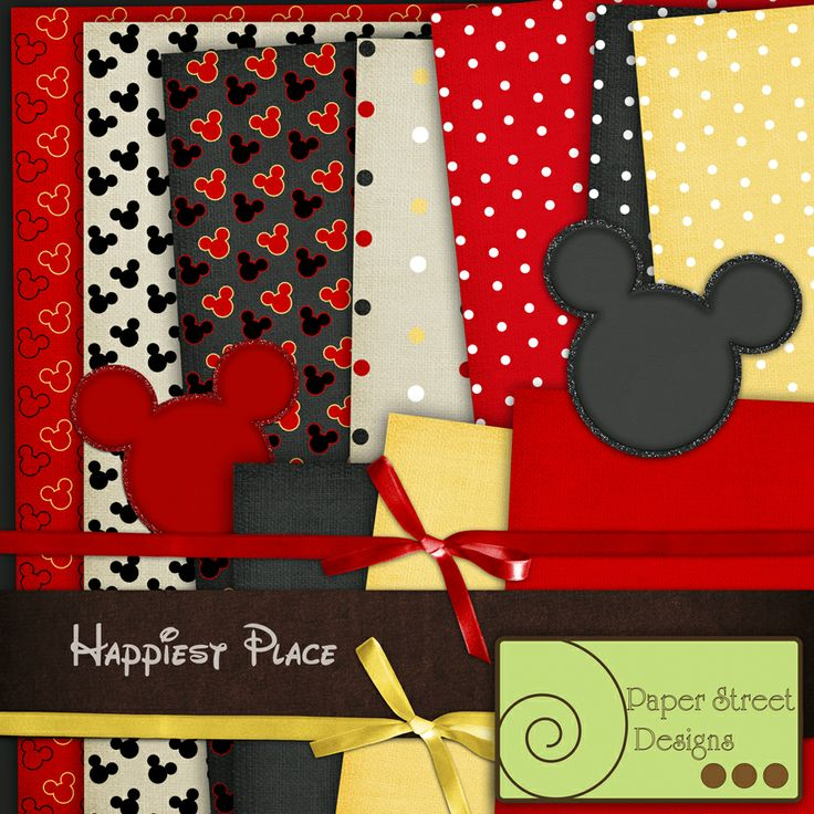 happiest place, free paper from Paper Street Designs >...LOOOVE