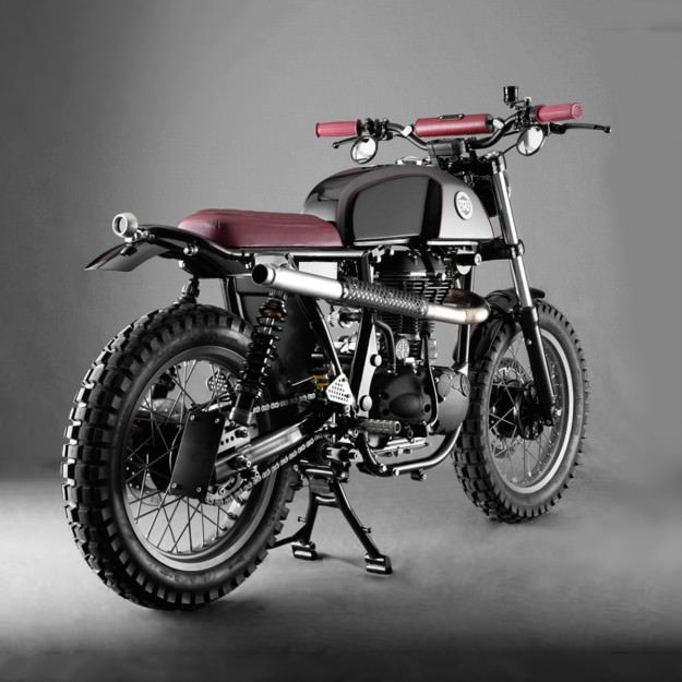 royal enfield gets into the custom game | motorcycles | royal enfield,  enfield motorcycle, motorcycle