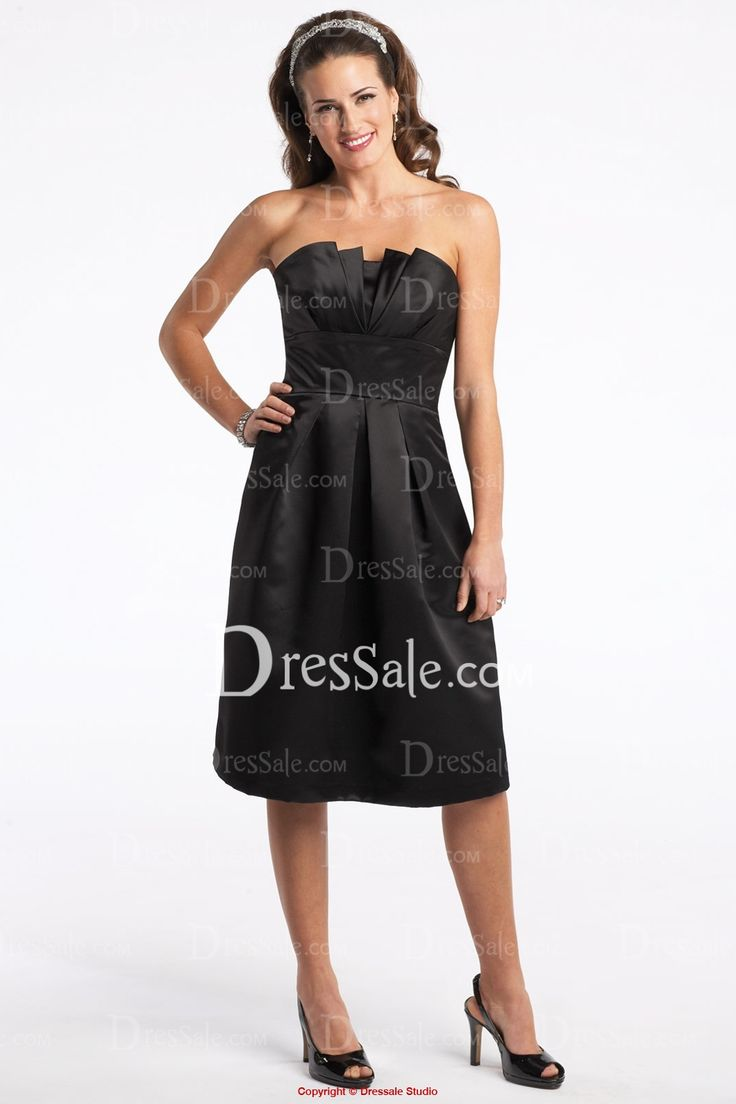 Black dress for wedding party - Gorgeous Black Mother Dress With Square Neckline