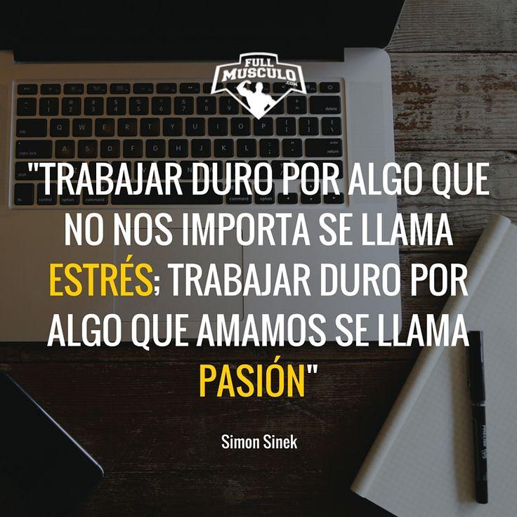 Encuentra lo que amas y trabaja duro todos los días. Ni los lunes te quitarán el sueño. #Fitness #motivation