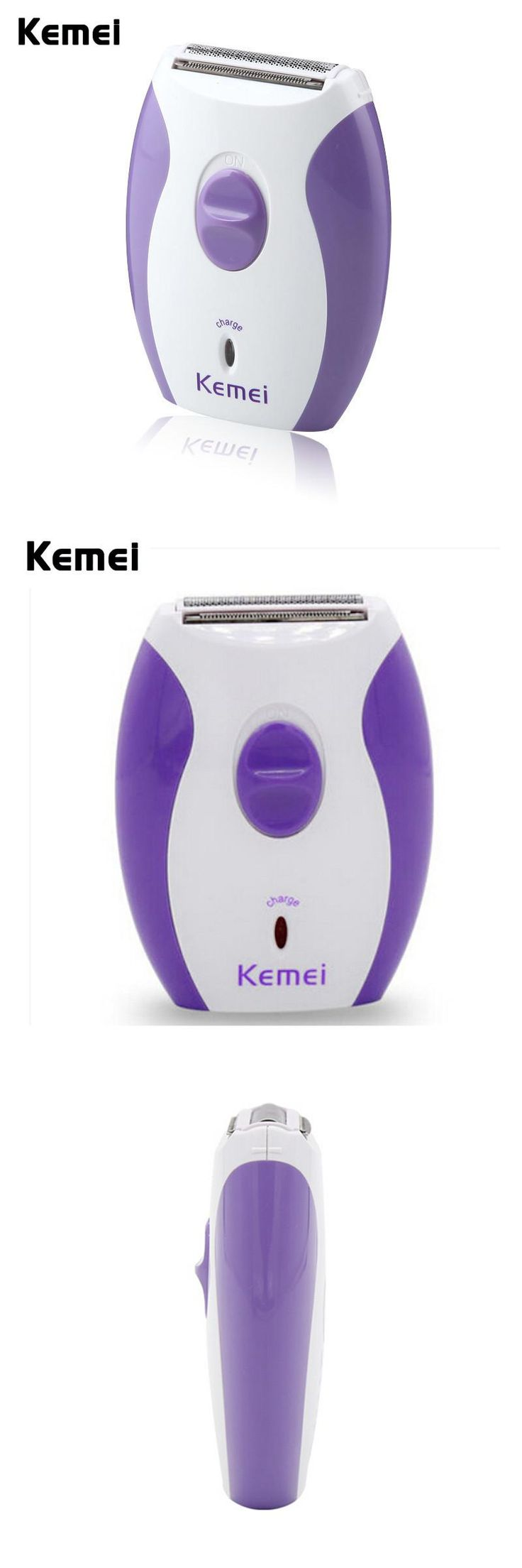 [Visit to Buy] Kemei KM-280R Women Rechargeable Epilator Little And Dainty Feminine Electric lady Shaver Hair Removal Shaving Products #Advertisement