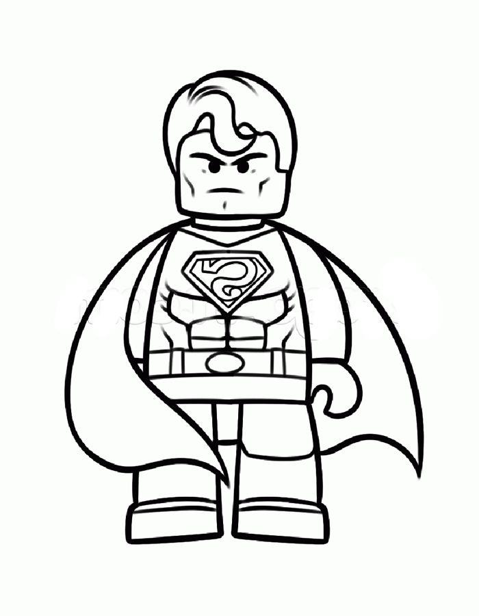 Lego La Pelicula dibujos para Colorear para niños 7