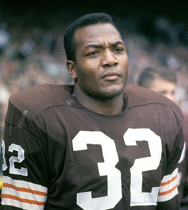 Jim Brown - American footballer .