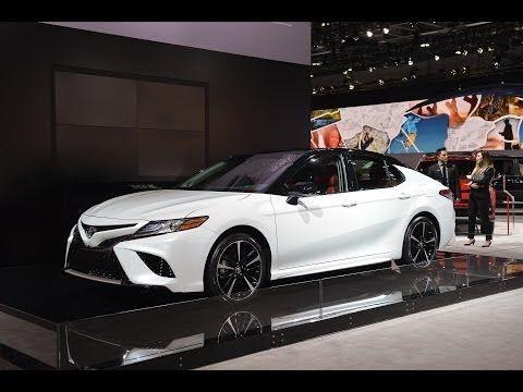 2019 Toyota Camry Sport Washington Dc Auto Show 2018