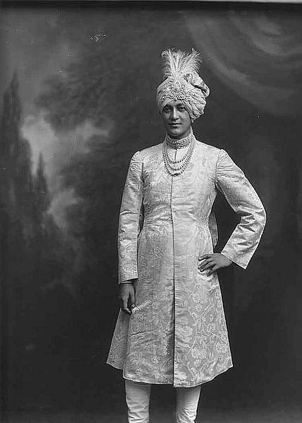 Jitendra Narayan Bhup Bahadur, Maharajah of Cooch-Behar 1913, India.