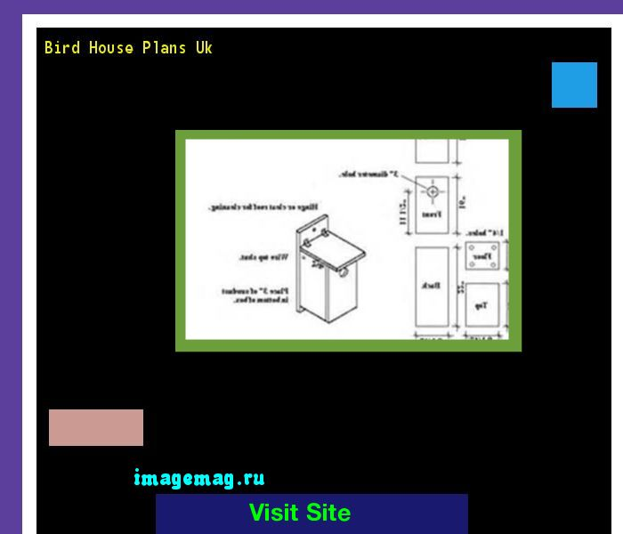 Bird House Plans Uk 160723 - The Best Image Search