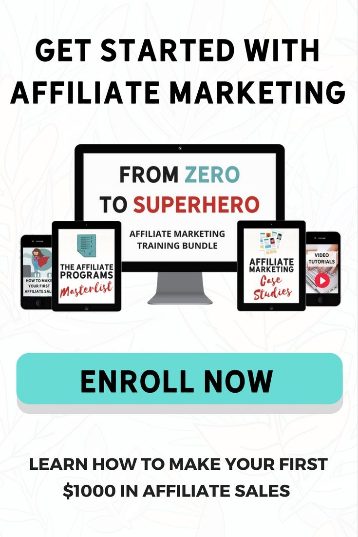 Affiliate marketing training for bloggers. How to make your first $100 in affiliate sales, make money blogging and become an affiliate marketing expert. #affiliatemarketing #makemoneyblogging Make money blogging with this affiliate marketing training! Aff