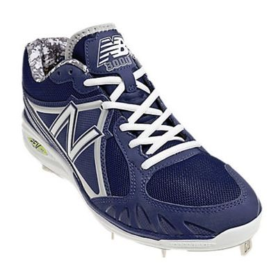 New Balance MB3000 Low Metal Cleats~ MLB proven 8 spike outsole plate~ extremely comfortable and lightweight! Choose from black, blue and red