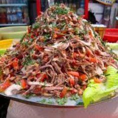 Salpicon de Res Recipe/ Shredded Beef Salad