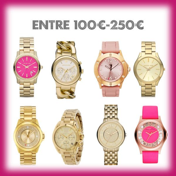 Relojes dorados, golden watches,